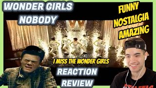 Wonder Girls (원더걸스) - NOBODY MV REACTION / REVIEW *PATREON V…
