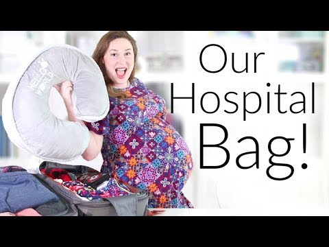 Packing Our Hospital Bag for Labor and Delivery