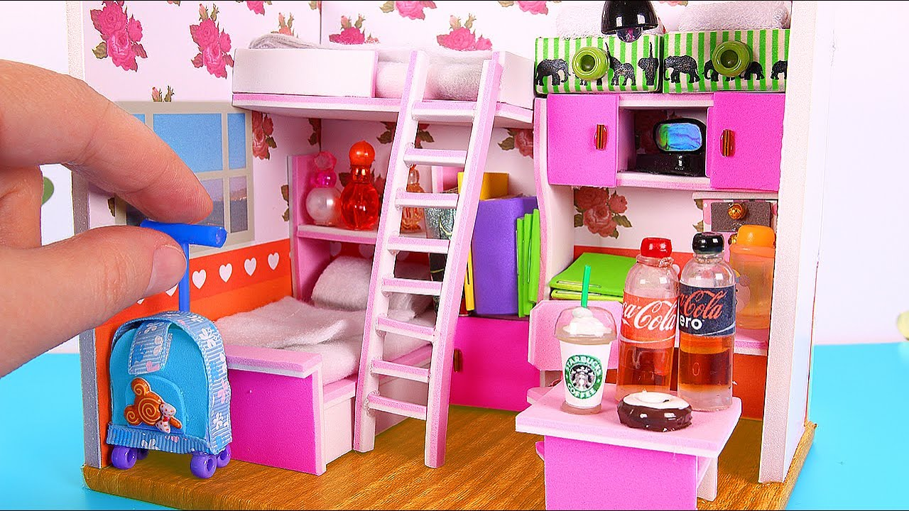 DIY Dollhouse Girl Room NOT A Kit