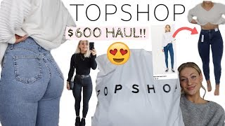TOPSHOP JEANS TRY-ON HAUL   OMG YOU NEED THESE!!!   AD