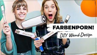 Farbenporn: Wir streichen unser Zimmer!