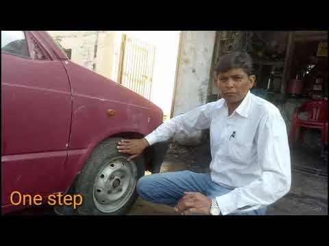 agr raaste me wheel alignment  kharaab ho jjaye to kaise chack kre  and kaise thik kre thumbnail