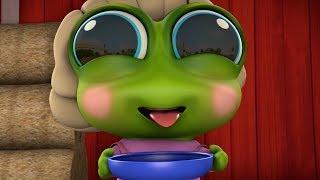 The Frog Finger Family | The Finger Family Song | Kids Songs