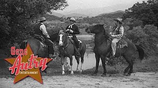 Gene Autry - In and Out the Jail House (from Wagon Team 1952)