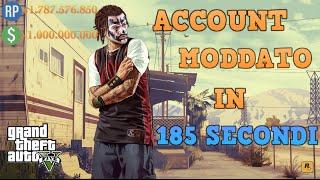 GTA 5 ONLINE | COME MODDARE UN ACCOUNT IN 185 SECONDI! (PRIMO IN ITALIA)