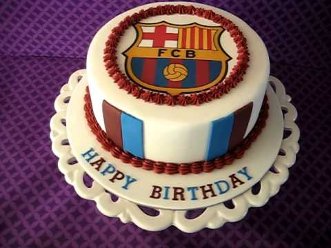 Barcelona Fc Cake Youtube