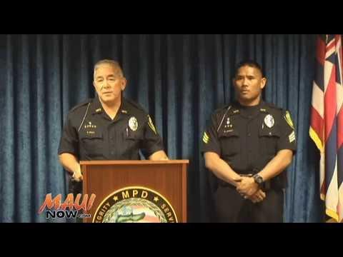Maui Police Shooting Press Conference - Keopuolani Shooting 8.7.2015