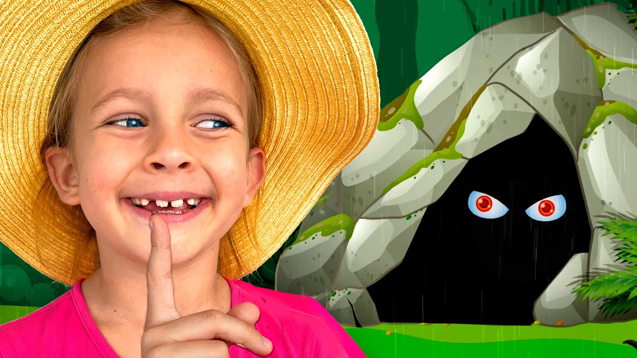 Maya walks into woods Cartoon Song for kids | Maya and Mary Kids Songs