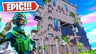 BEST FORTNITE PARKOUR MAP in CREATIVE MODE! (Ice King Parkour Challenge)