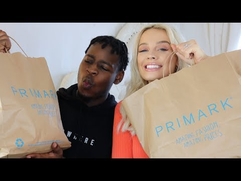 BOYFRIEND VS GIRLFRIEND PRIMARK OUTFIT CHALLENGE | Madison Sarah