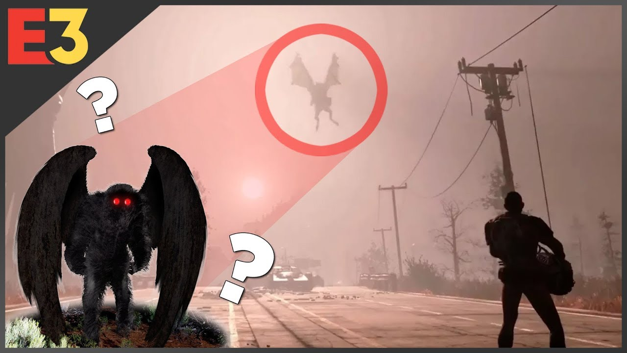 Fallout 76 MOTHMAN The History Amp Folklore Of Fallouts