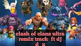 Clash of clans all caracter sound change into a perfect mix from (offical Dj. d_x)@deba xaikia