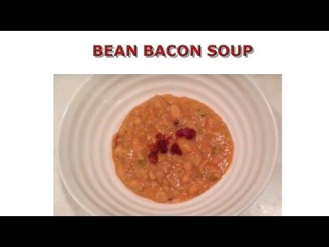 Hearty Bean Bacon Soup