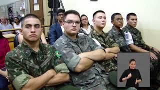 Jornal Acontece - Diploma Valor Militar
