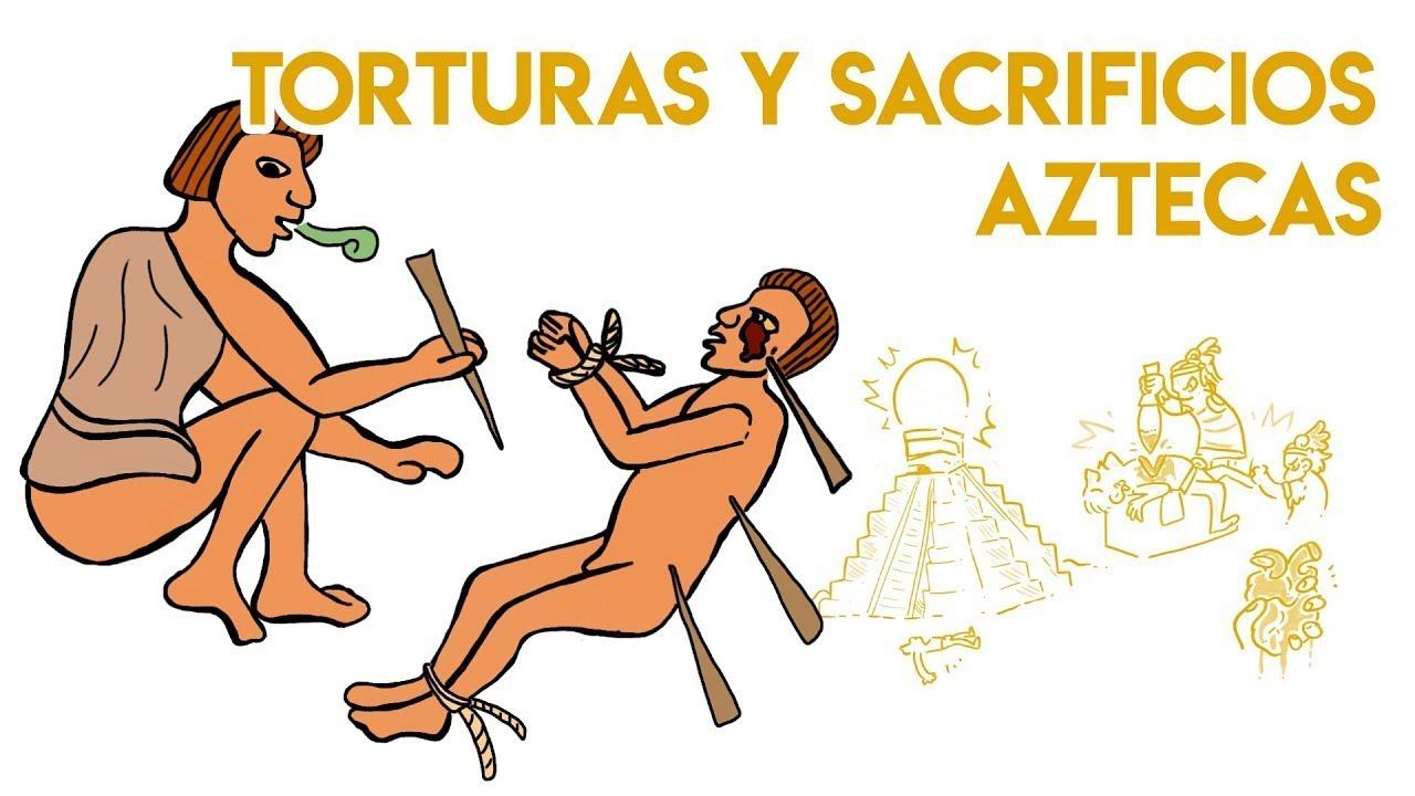 RITUALES aztecas QUE NO te CREERÁS | Draw My Life