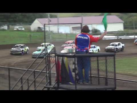 USRA Stock Car Heat 2 Fayette County Speedway West Union ,IA 9/1/19