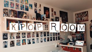 MY KPOP ROOM TOUR 2018 🔥