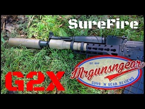 Surefire G2X Tactical: Best Weapon Light On A Budget Made? (HD)
