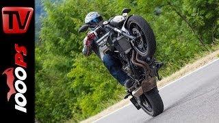 Yamaha MT 07 - Testvideo | Action, Sound, Fazit- 2014