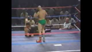 Sgt.Slaughter vs The Iron Sheik (Boot Camp Match)