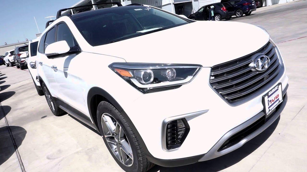 2017 Hyundai Santa Fe Auto Hold Youtube