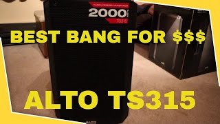 How Loud Can Alto TS315 Get | Unboxing