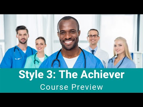 "Style 3 - ""The Achiever"""