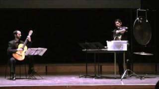 Mundus Canis, George Crumb - Diego Espinosa, percussion, Santiago Lascurain, guitar