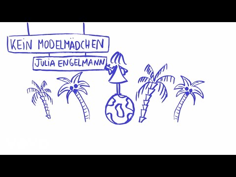 Julia Engelmann - Kein Modelmädchen (Lyric Video)