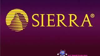 Sierra logo and creature