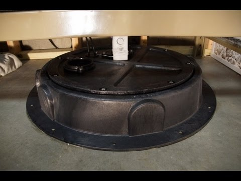 Diy Radon Fan Amp Sump Cover Mitigation Install Youtube
