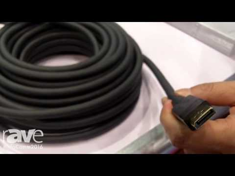 InfoComm 2016: Lenscen Electronics Exhibits Cable to Support Highend Projectors