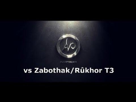 Lotro Remmorchant T3 - Avorthalier Vs Zabothak/Rukhor   Warden POV