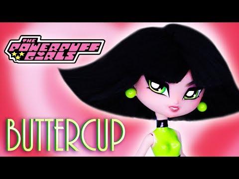Custom Buttercup Doll  [ POWERPUFF GIRLS 💚OOAK ]