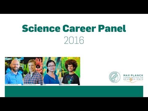 MPFI's Science Career Panel 2016
