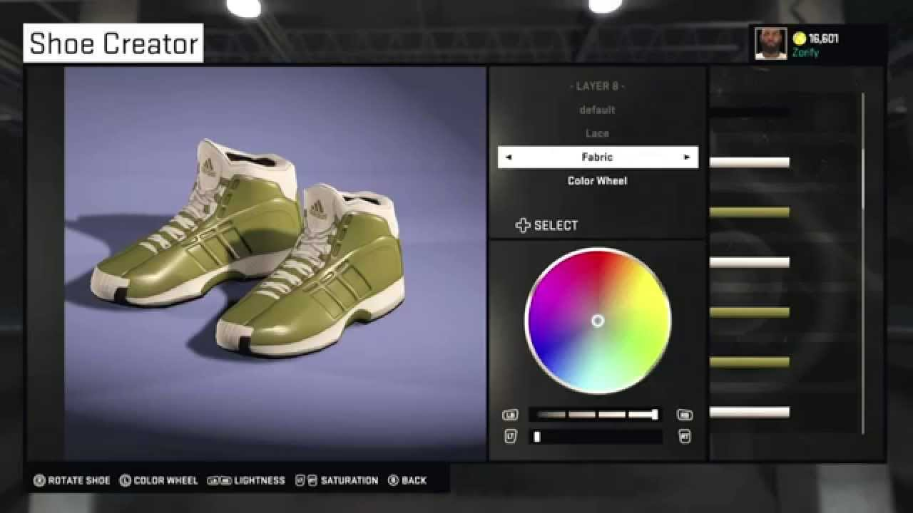 725fa38bb3f NBA 2K15 Shoe Creator - Adidas Crazy 1