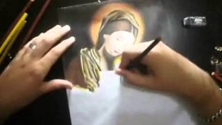 Henrique - Desenhando Maria Mãe de Jesus