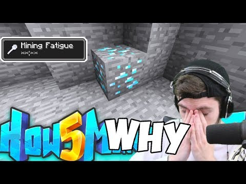 spending an entire episode mining 1 diamond - How To Minecraft S5 #21