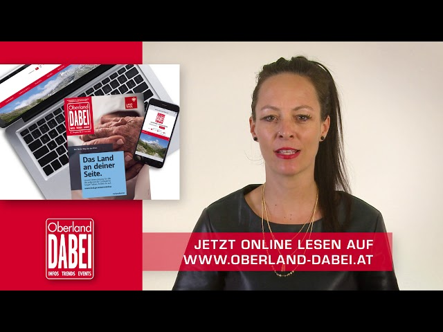 Oberland DABEI Newsflash 29.05.2020