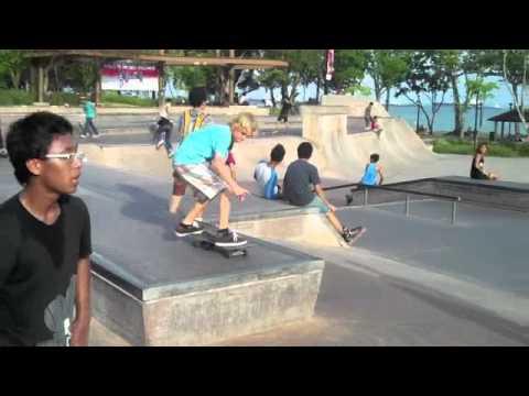 skating in Singapore