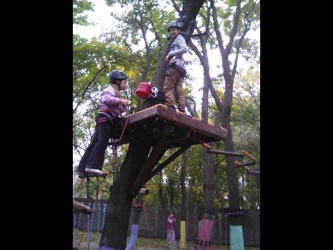 Верёвочный парк г. Бахмут (Артемовск)