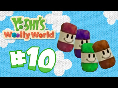 Curtains!! Yoshi's Woolly World WiiU HD - EP 10