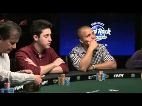 WPT Seminole Hard Rock Poker Finale. Final table webcast