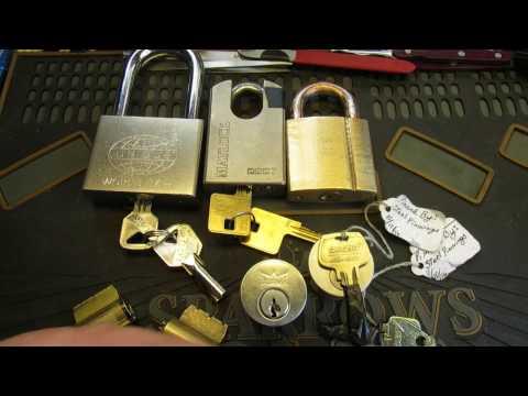 Взлом отмычками    (249) Awesome Parcel From Apache Locksport & Matlock 2027 SPP