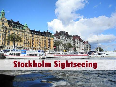 Stockholm Sightseeing (ล่องเรือชมวิวยามเย็นในสตอกโฮล์ม)