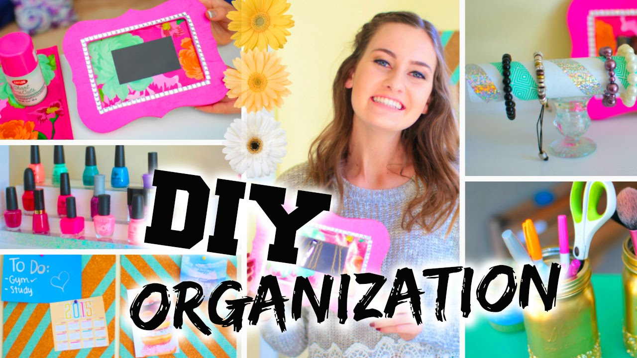 Diy Room Organization Easy Ways To Organize Youtube