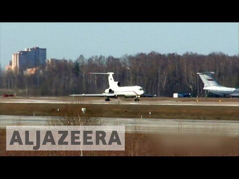 Russian plane crash: No sign of survivors