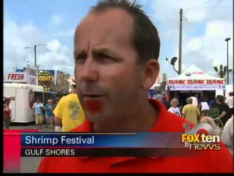 shrimp festival under way in Gulf Shores
