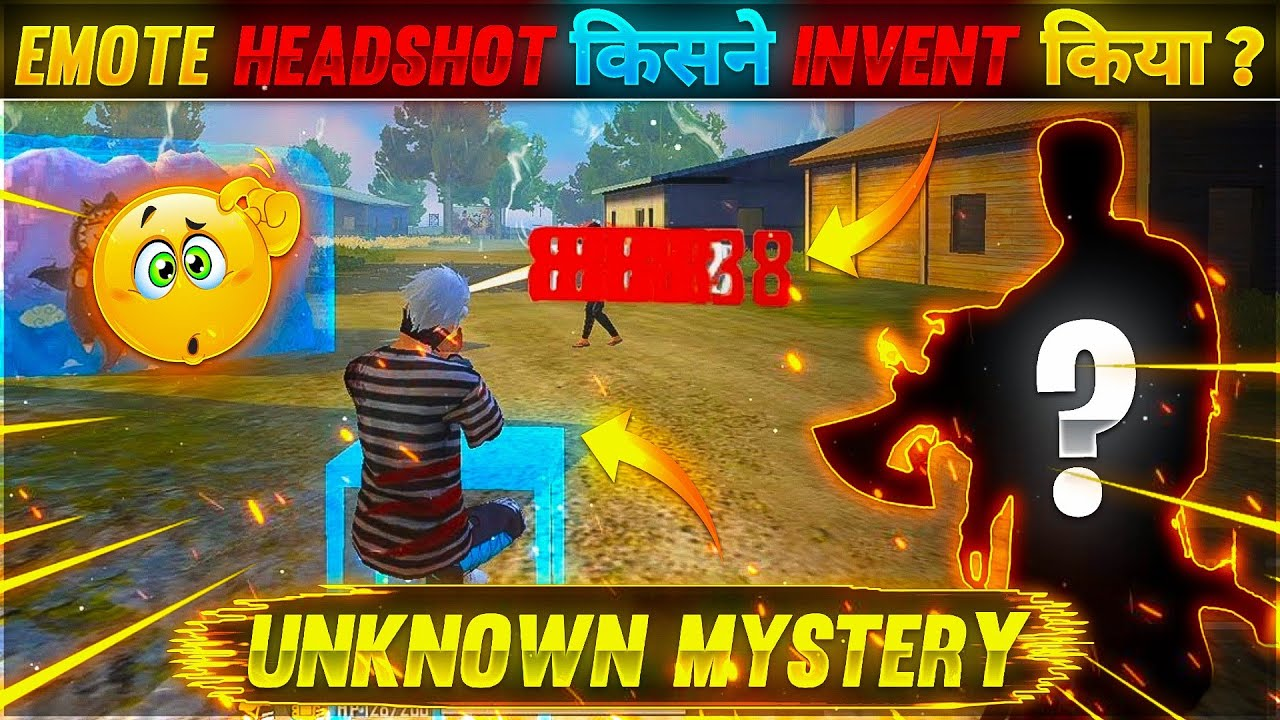 EMOTE HEADSHOT KISNE INVENT KIYA?😲 || UNKNOWN MYSTERY || GAREENA FREE FIRE