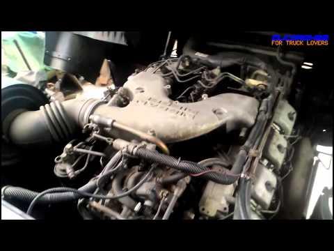 UD(Nissan Diesel) RF8 V8 Engine View